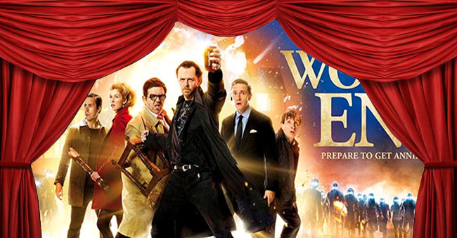 Now Playing:  The World's End, Blackfish and Cutie & The Boxer
