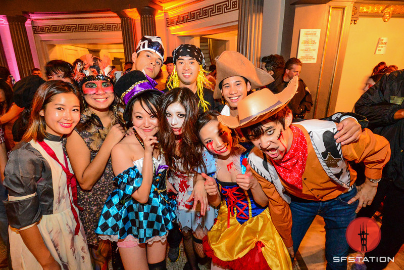 Photos: Getting Freaky With Nightmare On Van Ness Halloween Party