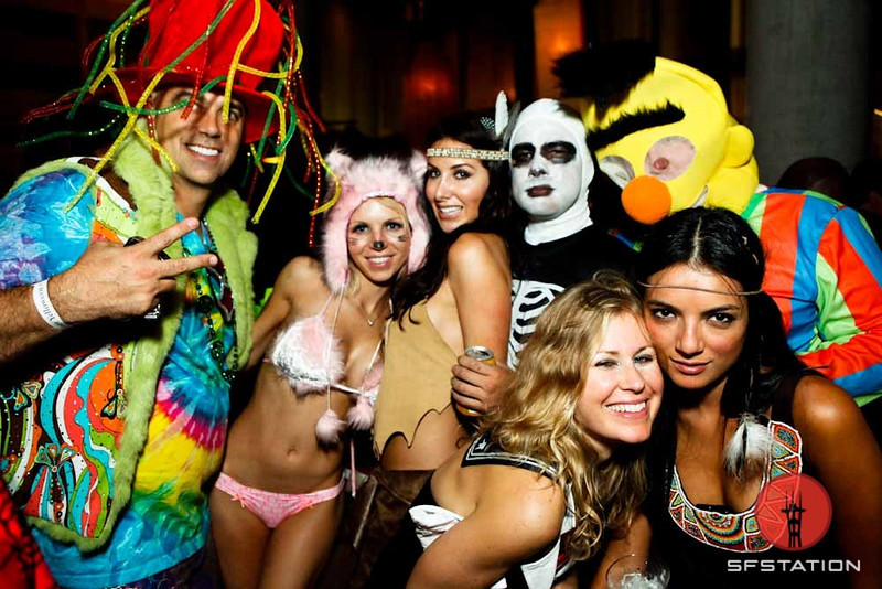 Throwback Thursday: Party Shots From Halloween in San Francico