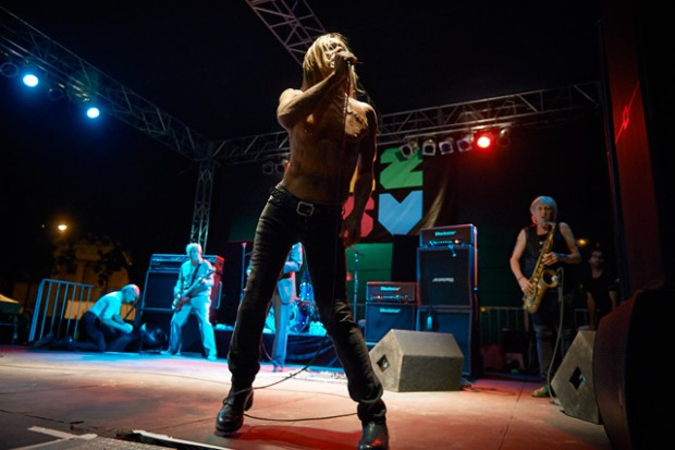 Review: Iggy and The Stooges at C2SV