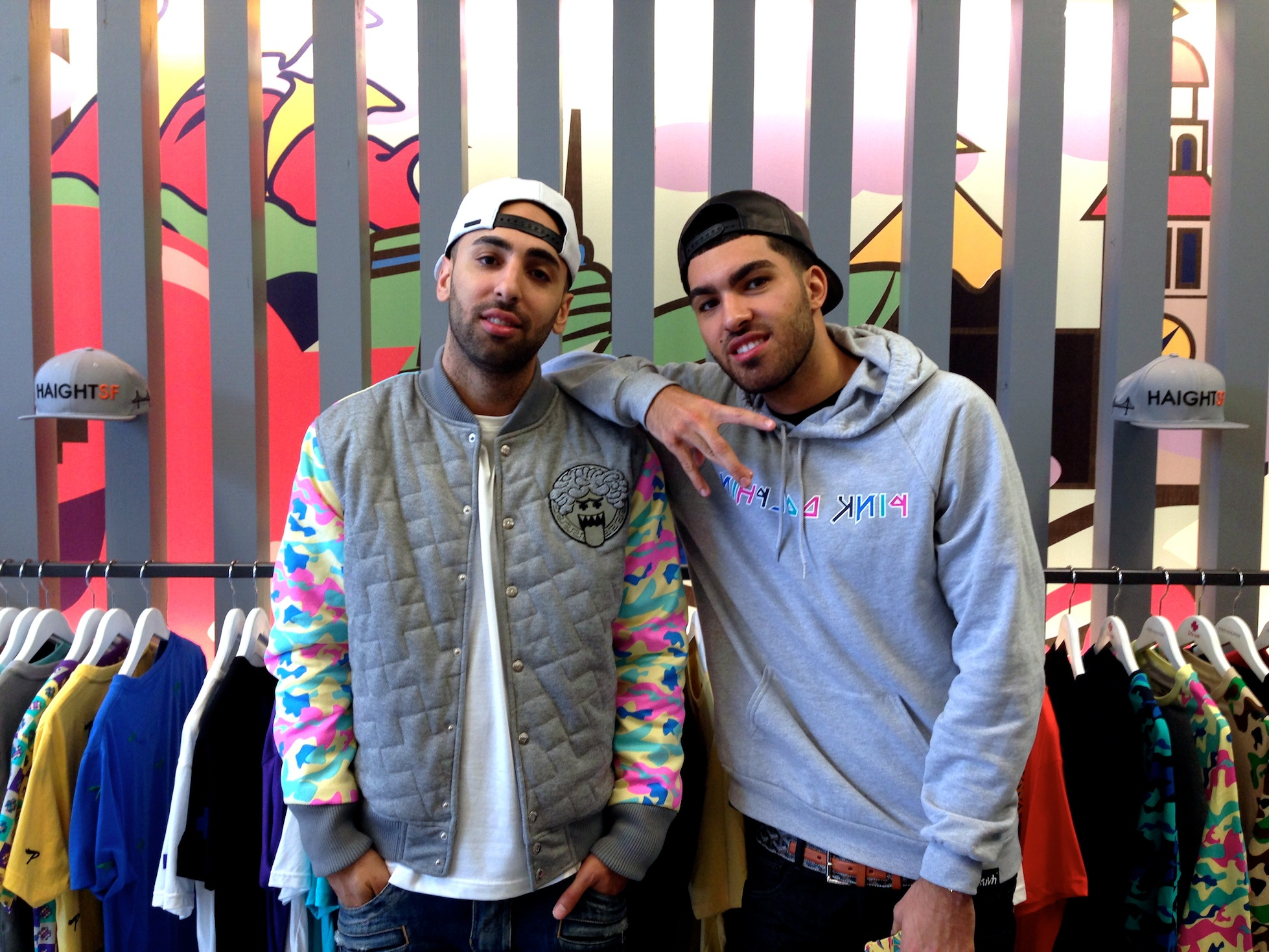 Streetwear Brand Pink + Dolphin Opens on Haight Street