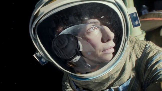 Movie Review: Sandra Bullock Becomes Untethered In 'Gravity'