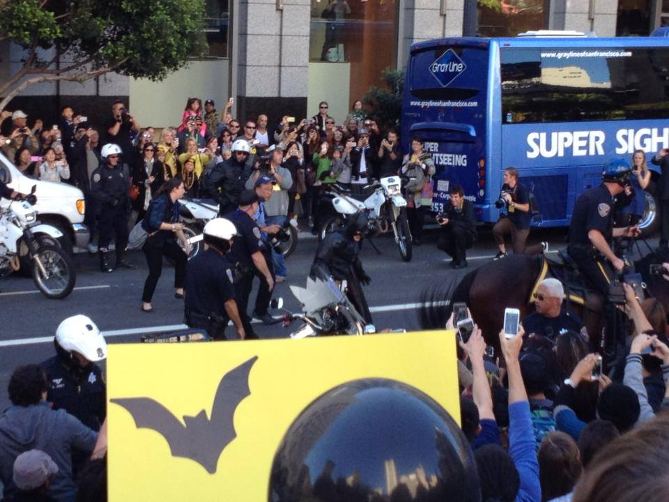 Video: #sfbatkid Cheered on by Thousands in San Francisco