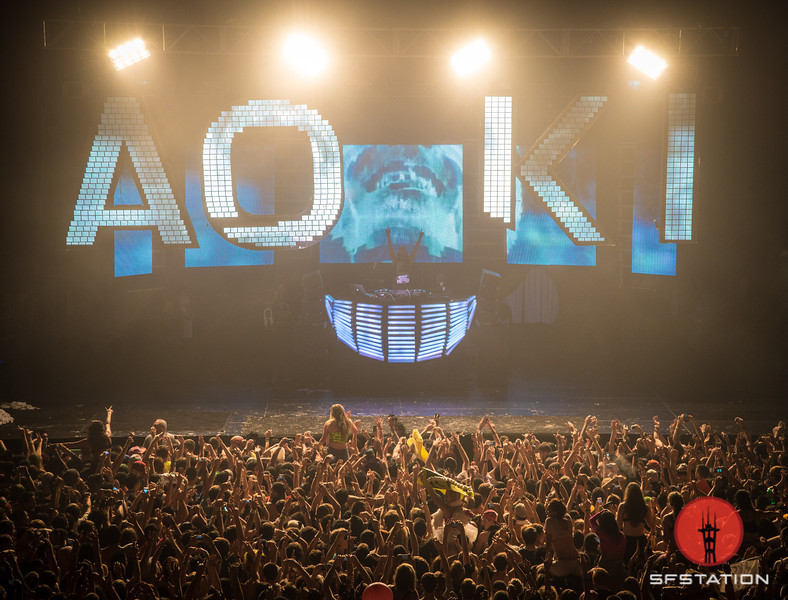 Photos: Steve Aoki 'Aokifies' the Civic Auditorium