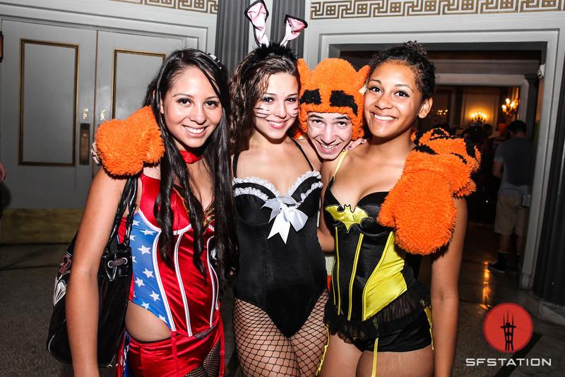 Photos: Iamsu and Sage the Gemini at the Regency for Heart Break Halloween