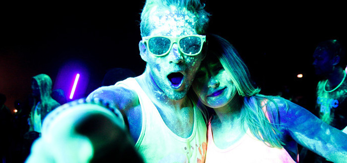 Photos: Running and Raving With Cosmic Run at Candlestick Park