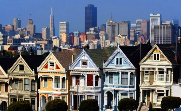 SF Officials Ban Tour Buses from Alamo Square, Painted Ladies