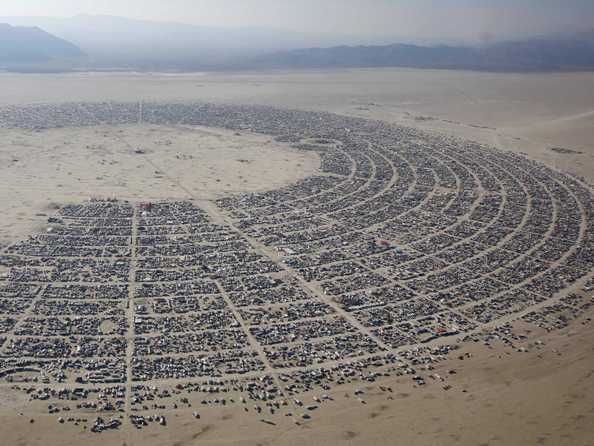 Burning Man Organizers Agree to Pay $600k Annually to Nevada County