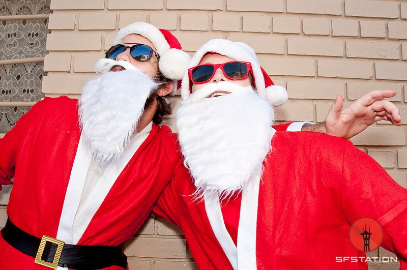 Giveaway: Win a Santa Suit for SantaCon, Plus 100 Photos From Years Past