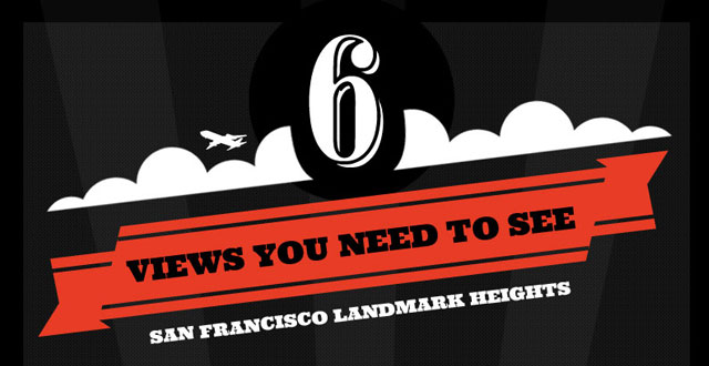 6 San Francisco Views You Need To See (Infographic)