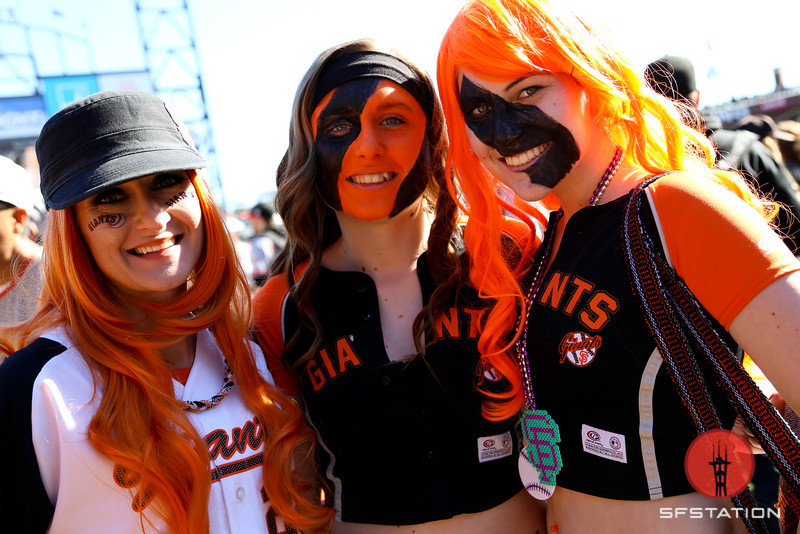 Photos: Back on the Field for SF Giants Fan Fest