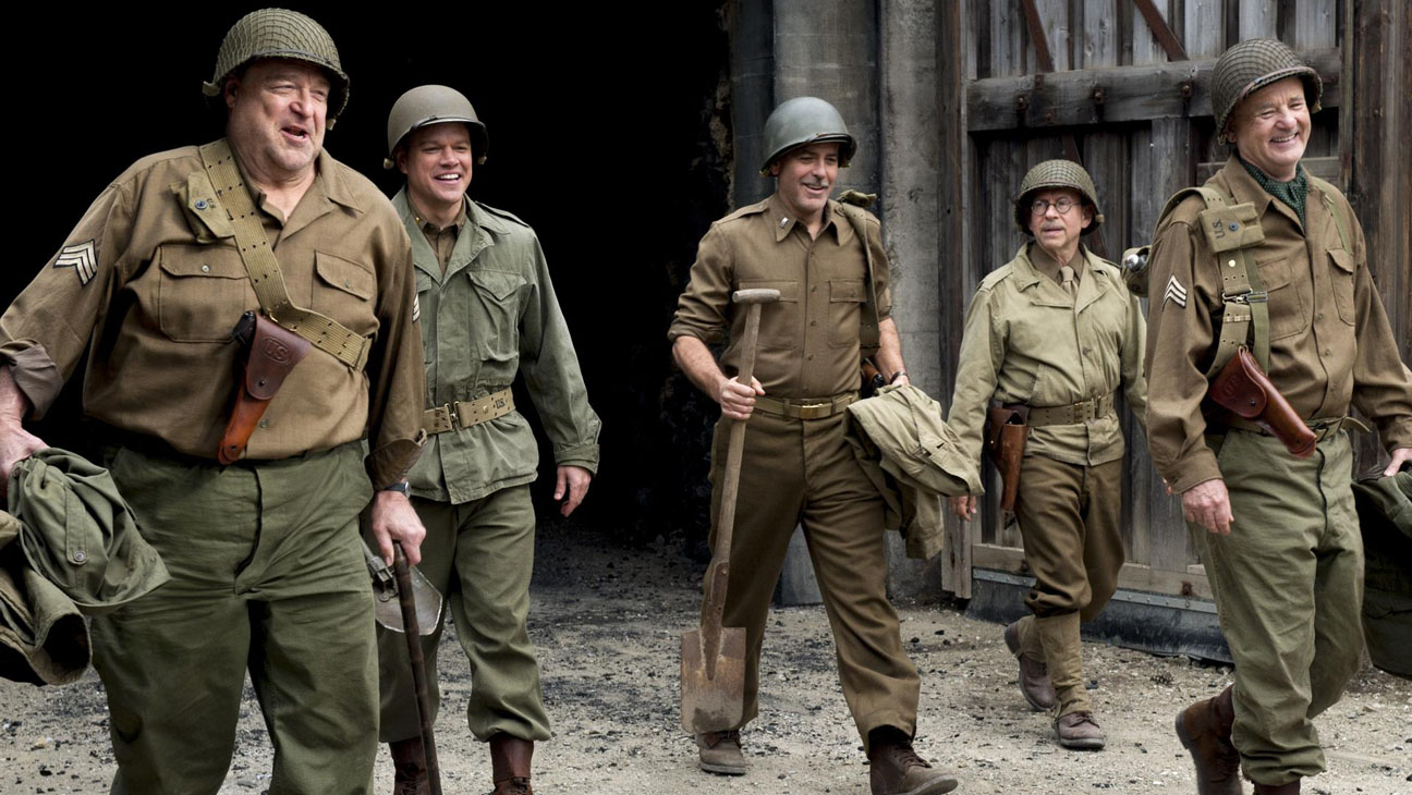 Movie Review: 'Monuments Men' Stumbles and Bores