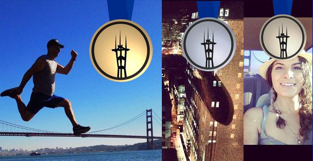 @danseladams Takes Gold in First #SFselfieOlympics