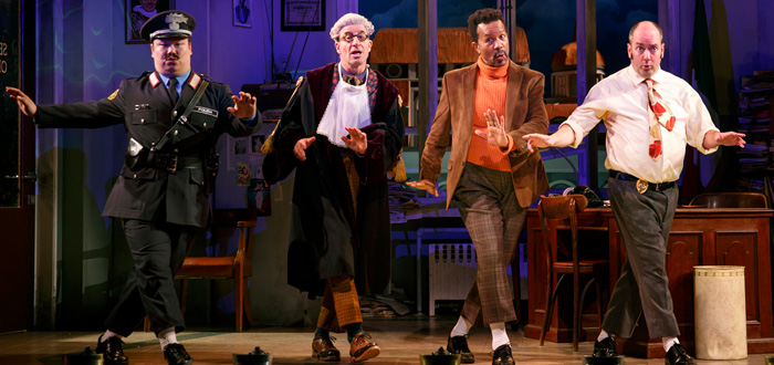 Stage Review: Accidental Death of an Anarchist at Berkeley Rep