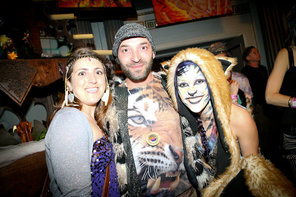 Photos: Dance Music, Costumes and Live Art Converge at Bicycle Day