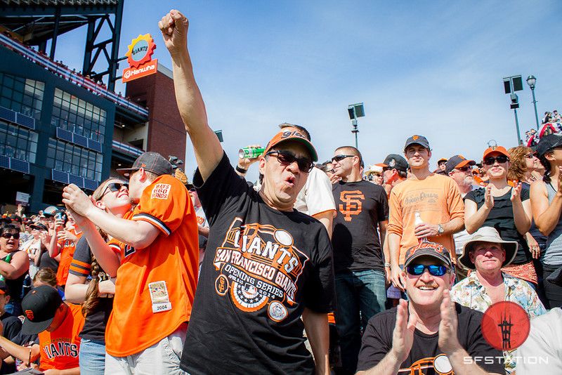 Photos: Scenes From Opening Day With the Giants at AT&T Park