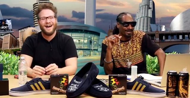 Seth Rogan and Snoop Dogg Get High and Discuss Game of Thrones