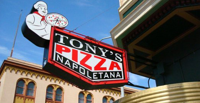 "Award Winning ""La Bella Rosa"" Pizza Arrives at Tony's Pizza Napoletana"