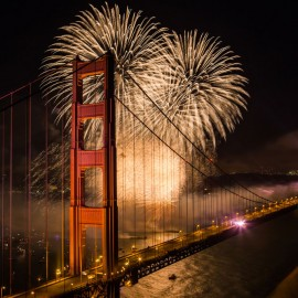 Fireworks Displays in the SF Bay Area for Fourth of July