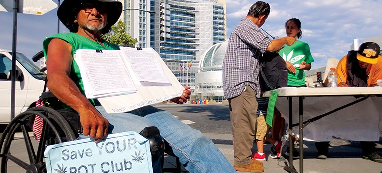 Advocates Occupy San Jose With Free Marijuana, Evaluations