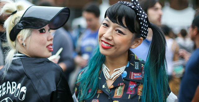 Photos: Fresh Fashion at Japantown's J-Pop Festival