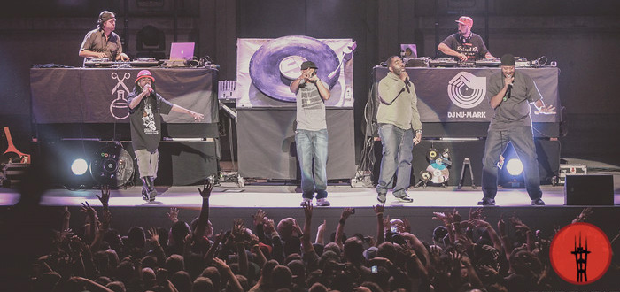 Photos: Jurassic 5 and Quannum Projects Join Forces for 'Word of Mouth'