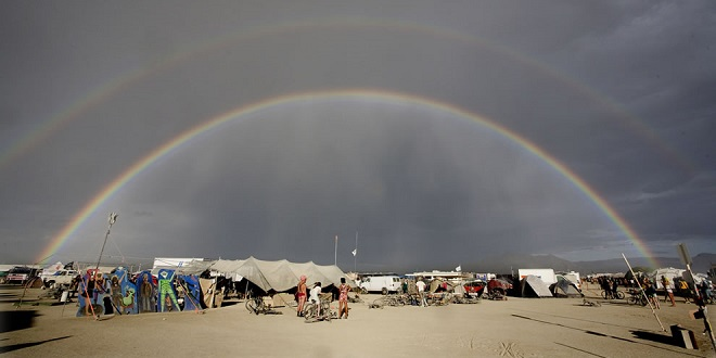 Burning Man Closed Temporarily Due to Heavy Rain