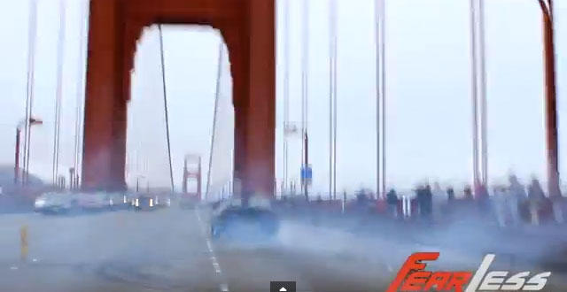 Video: Side Show Stops Traffic on the Golden Gate Bridge, Waldo Tunnel