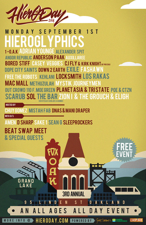 hiero-day-lineup