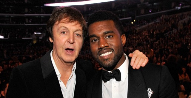 Kanye West Rumored to be Working with Paul McCartney