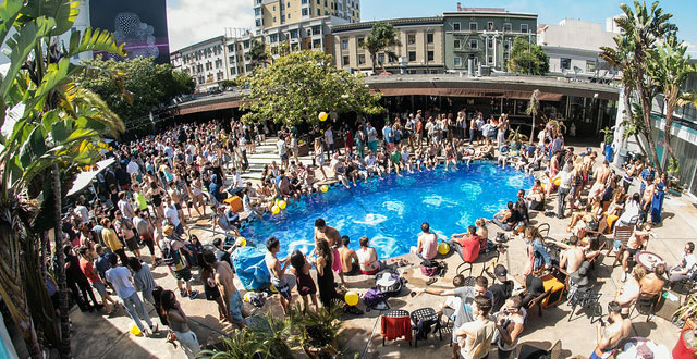 Photos Pool Party With Cyril Hahn At Phoenix Hotel Sf Station