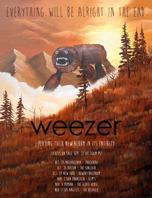 weezer-club-dates