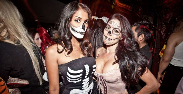sexy halloween party photos