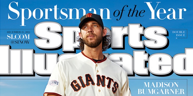 Madison Bumgarner Wins 2014 Sportsman of the Year