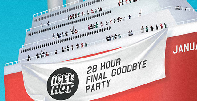 Icee Hot Sets Sail With 28-Hour Goodbye Party