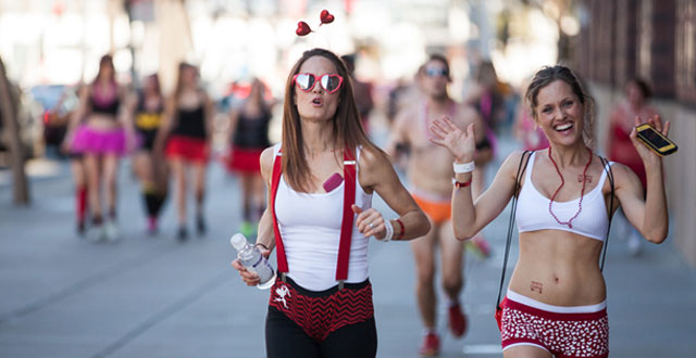 Photos: Cupid's Undie Run in the Streets of San Francisco