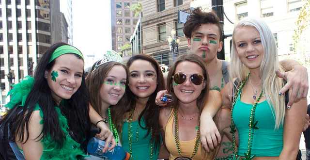 Photos: A Green Day at San Francisco's St. Patrick's Day Parade
