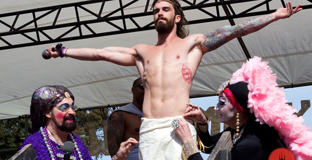 Photos: 'Hunky Jesus' Resurrected in Golden Gate Park