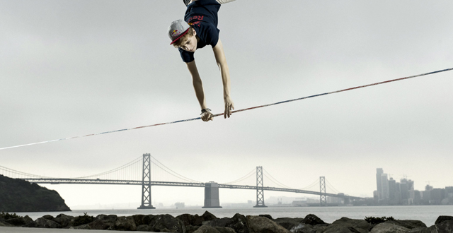 """Slackers"" To Be Suspended Over San Francisco Streetcars for Red Bull Competition"