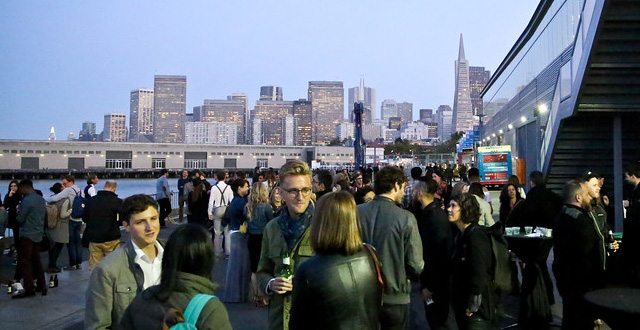 Photos: SF Design Week Opening Reception at Pier 27