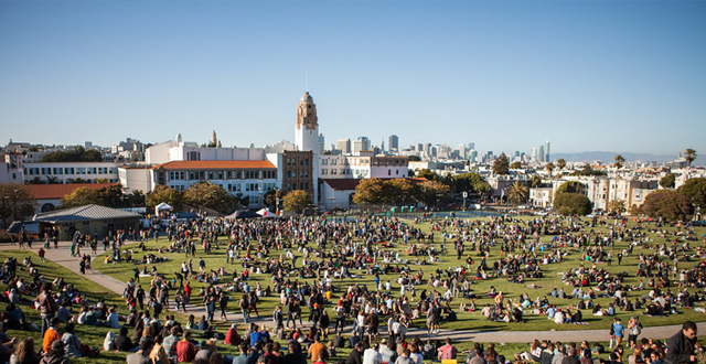 Photos: Dolores Park Grand Re-Opening