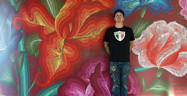 Jet's Murals Explore Community Building Inspired by Folk Art