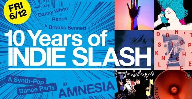 "Indie Slash Ends 10-Year Run at Amnesia, Rebrands as ""Fine Time"""