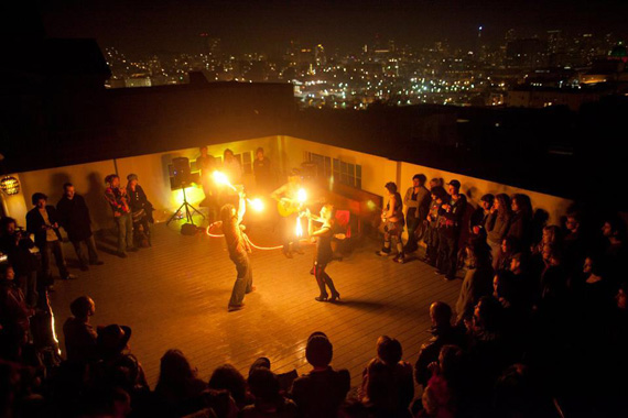 Fire Arts at The Convent