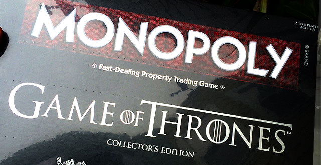 Contest: Win the Game of Thrones Monopoly Board Game
