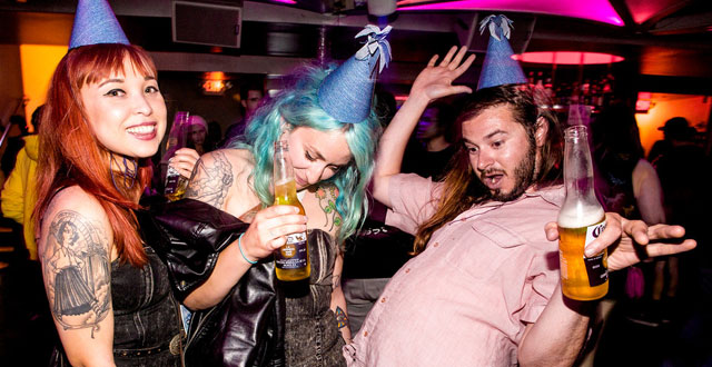 Photos: Andrew W.K. Pizza Party at 1015