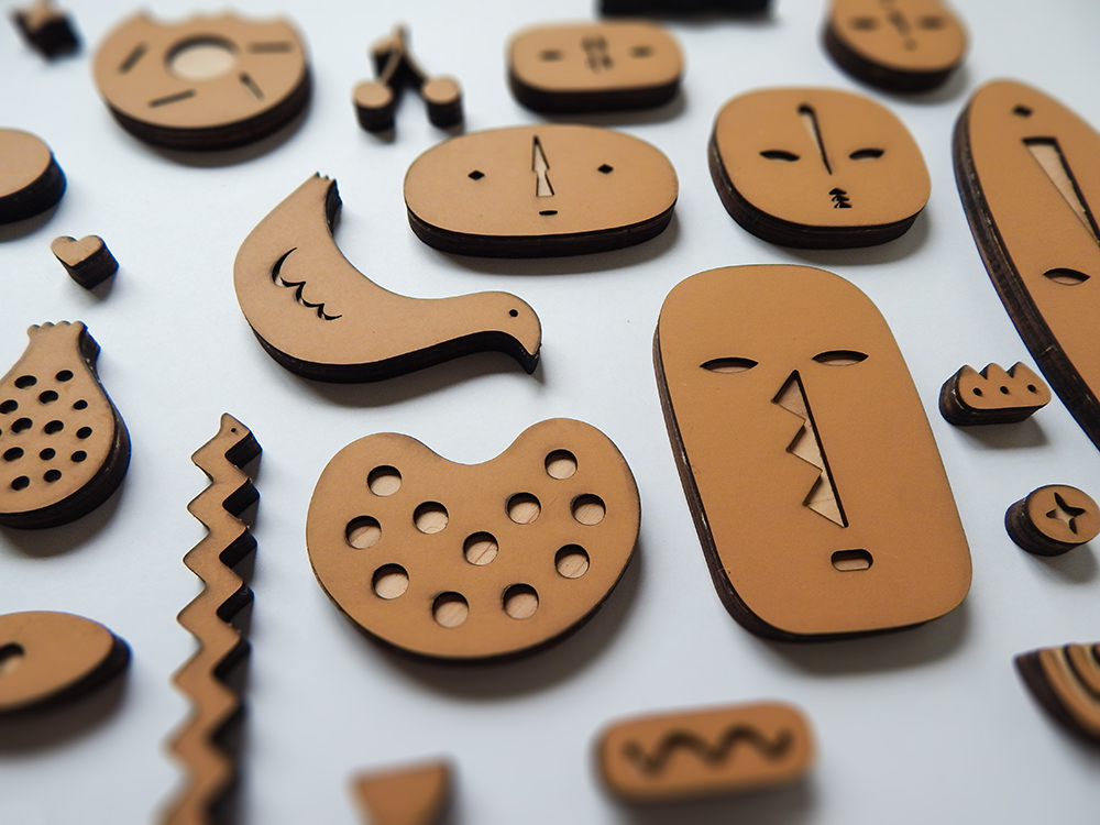 Scarf Stamps by ChiChiLand