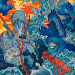 """Adrift"" by artist James Jean (2015)"