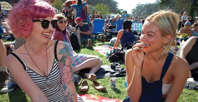 Photos: Fans Enjoy Music and More at Hardly Strictly Bluegrass Festival