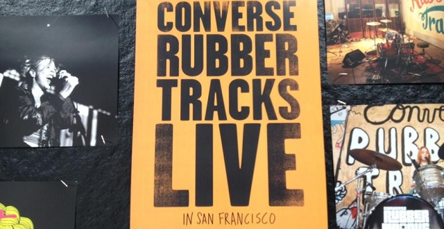 Converse Rubber Tracks Pop-Up Studio Returns to the Mission in SF